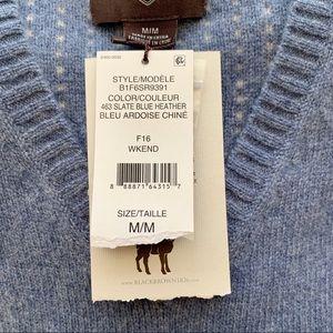 Black Brown 1826 Sweaters - Black Brown 1826 | Lambs Wool V-Neck Sweater - NWT